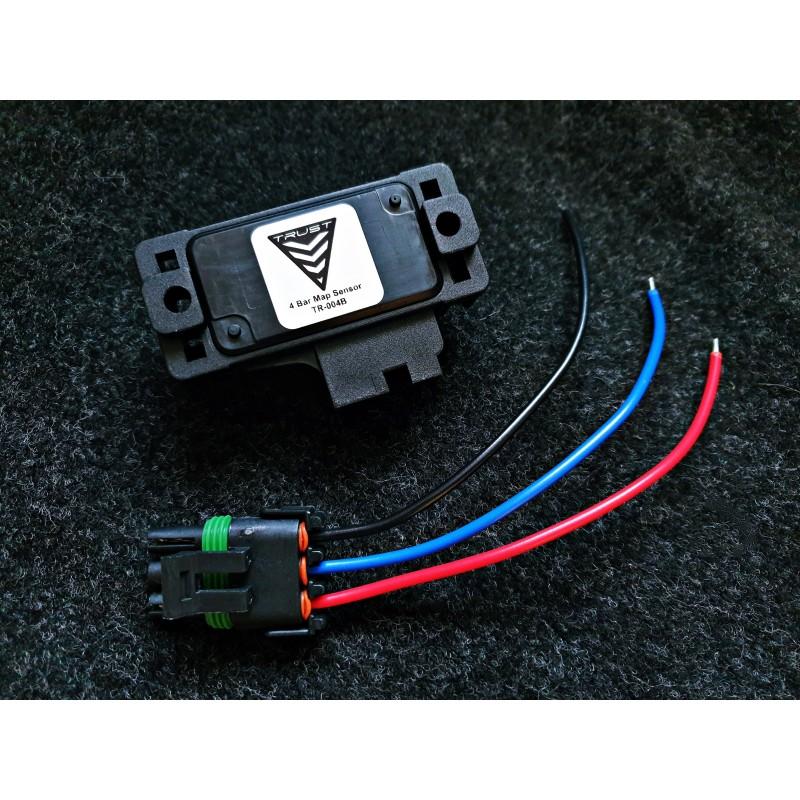 Trust Premium Black 4 Bar MAP Sensor SAAB 9000 900 9-3 Trionic 5