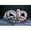 Saab GT28 GT30 GT35 / Holset HY-35 Stainless Tubular Manifold 900NG 9-3 9-5 9000 B2*4 B2*5 Engines