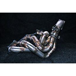 SAAB 900NG 9-3 9-5 9000 B204 B234 B205 B235 2.0 2.3 Stainless Side Mount / Side Winder Gearbox Tubular Manifold