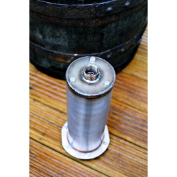 Koi Pond and Mains Water Dechlorinator / Chloramine Remover Refillable and Indestructible Stainless Steel